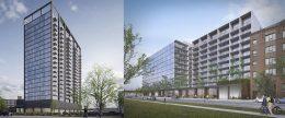 1400/1440 W Randolph Street Development. Renderings Courtesy of Brininstool + Lynch