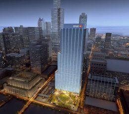 BMO Tower. Rendering by Goettsch Partners