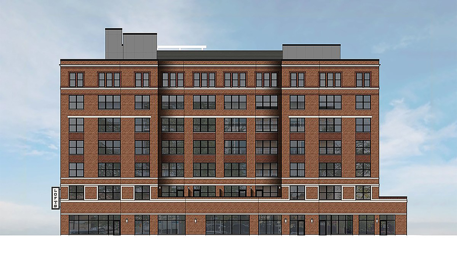 949 W Dakin Street. Rendering courtesy Draper and Kramer