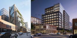 800 W Fulton Market (left) and 320 N Sangamon Street (right)