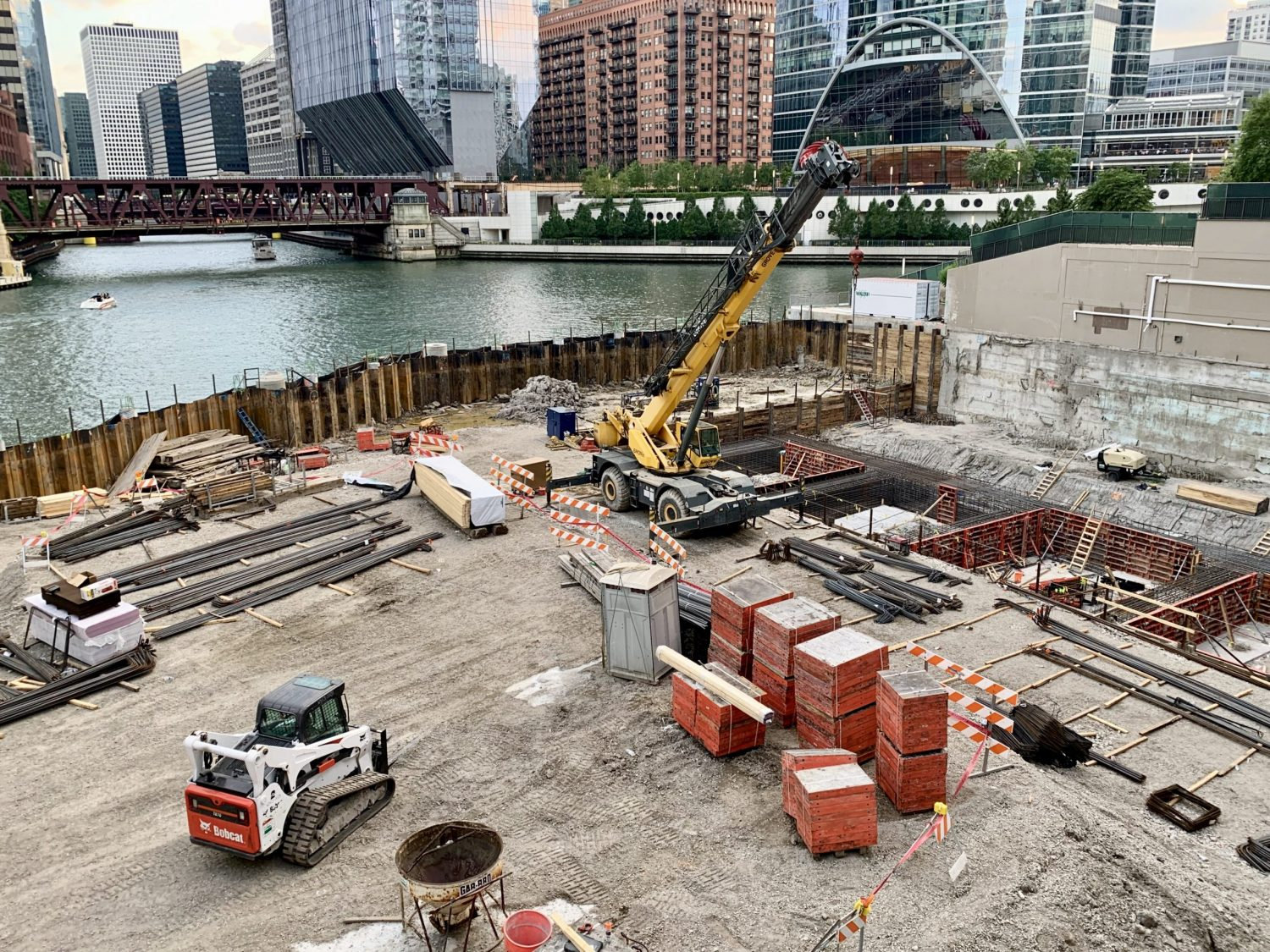 Photo of the Wolf Point South site facing southwest