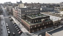 1100 W Fulton Market. Rendering by Hartshorne Plunkard Architecture