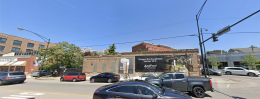 Site of future dog kitchen at 1983 N Clybourn Avenue, from N Clybourn Avenue