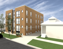 3202 N Kildare Avenue, facing southwest. Rendering courtesy of jSa via Zillow