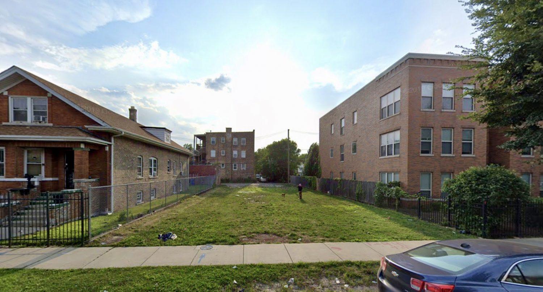 1244 S Washtenaw Avenue, facing west