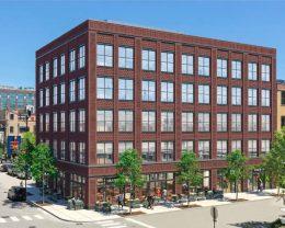 1020 W Randolph Street. Rendering by Hartshorne Plunkard Architecture