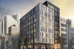 123 W Chicago Avenue. Rendering by Common Living