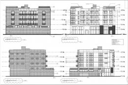 1801 W Grand Ave. Drawings by Pro-Plan Architects PC