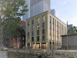 61 West Erie Street. Rendering by LG Development Group