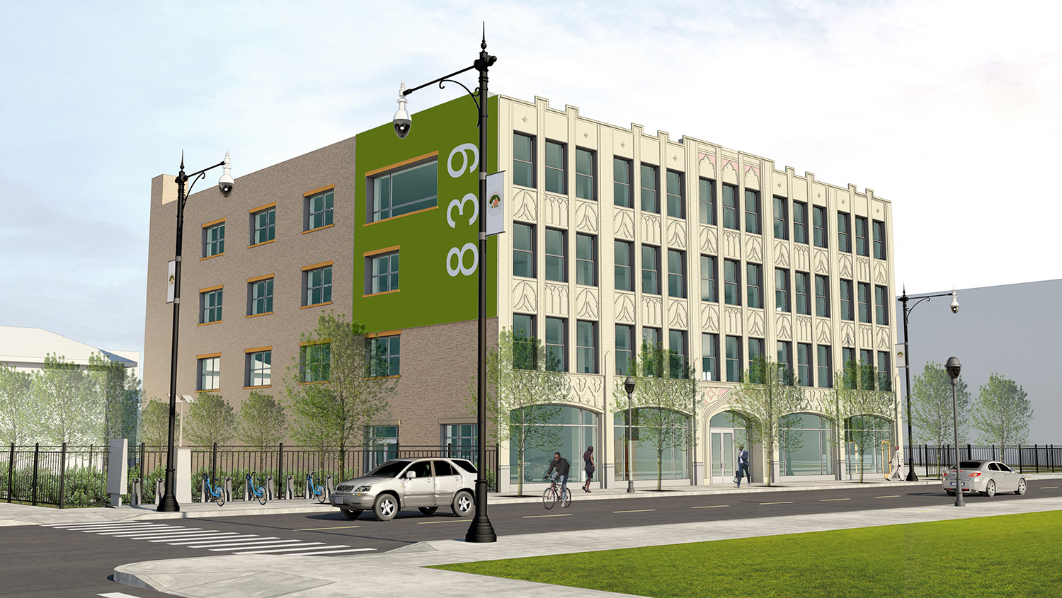 839 W 79th Street. Rendering by MKB Architects