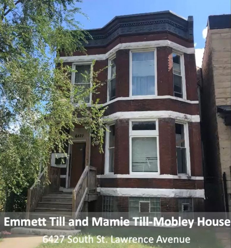 Emmett Till and Mamie Till-Mobley House. Image by CCL