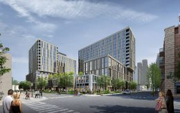Porte Chicago. Rendering by GREC Studio