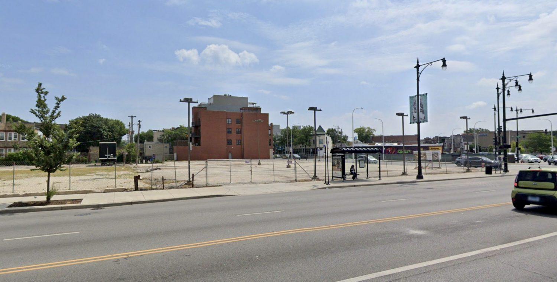 Site of 3215 N Western Avenue