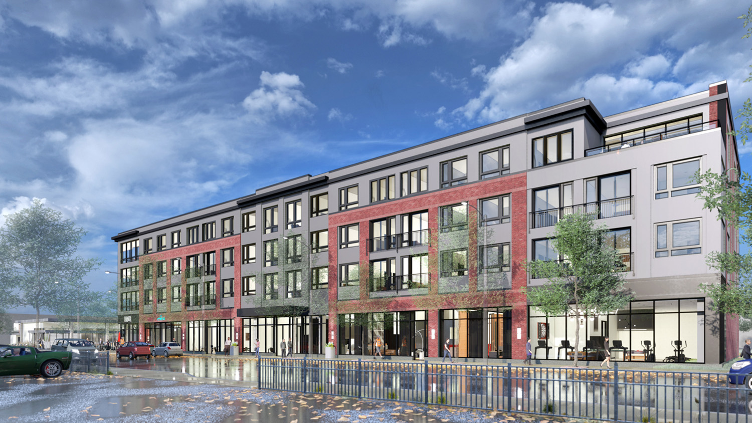 View of 508 E Pershing. Rendering by Nia Architects
