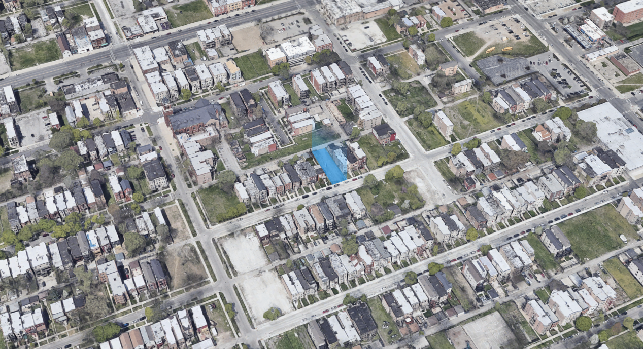 6422 S Drexel Avenue (blue)