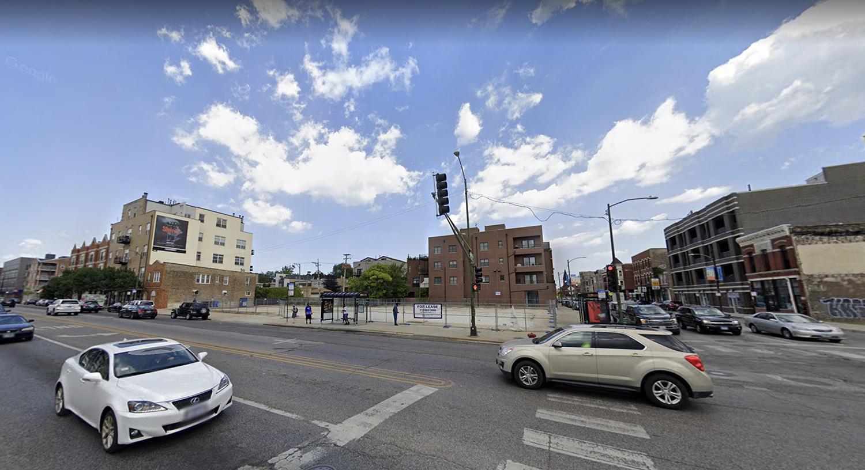 1601 N Western Avenue via Google Maps