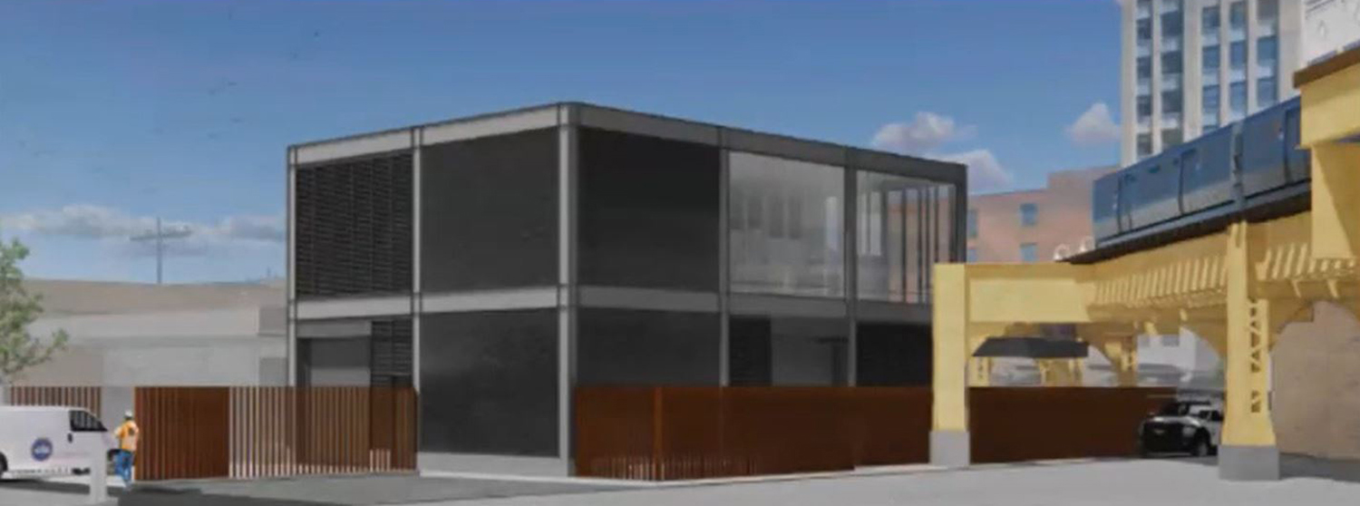 2023 W North Avenue. Rendering by Ross Barney Architects
