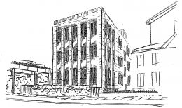 3409 N Bosworth Avenue. Drawing by Booth Hansen
