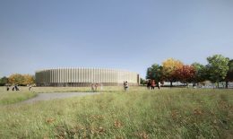 Chicago Park District Headquarters. Rendering by John Ronan Architects