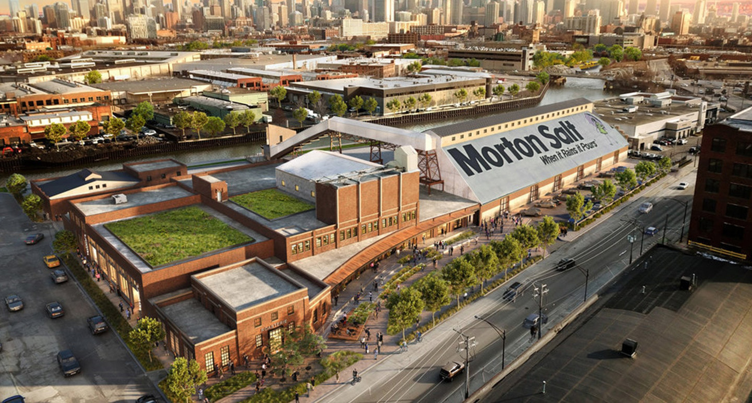 Morton Salt Development. Rendering by Lamar Johnson Collaborative