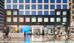 500 N Michigan Avenue base renovation