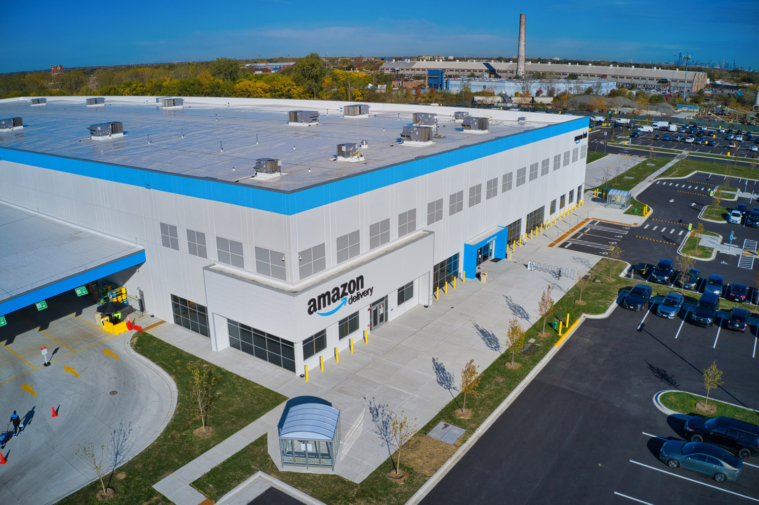 Amazon Distribution Center at Pullman Crossings. Image by Ryan Companies