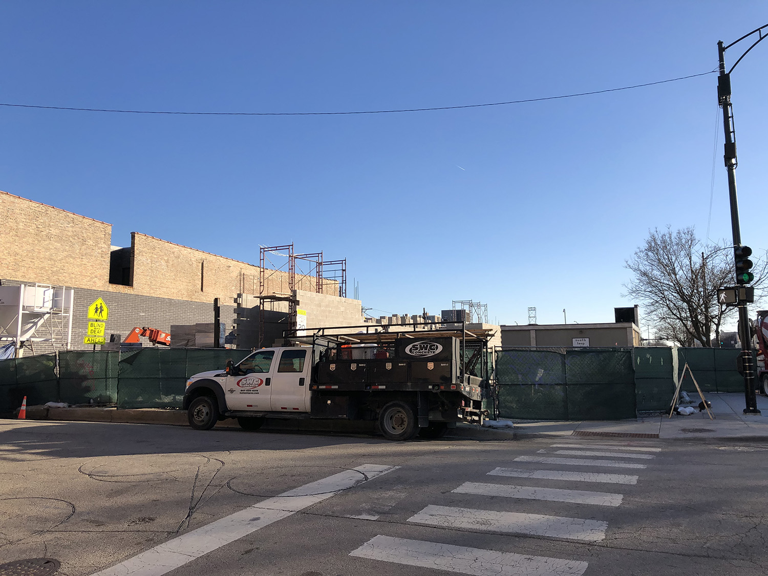 Construction at 2401 S State Street. Image by Lukas Kugler