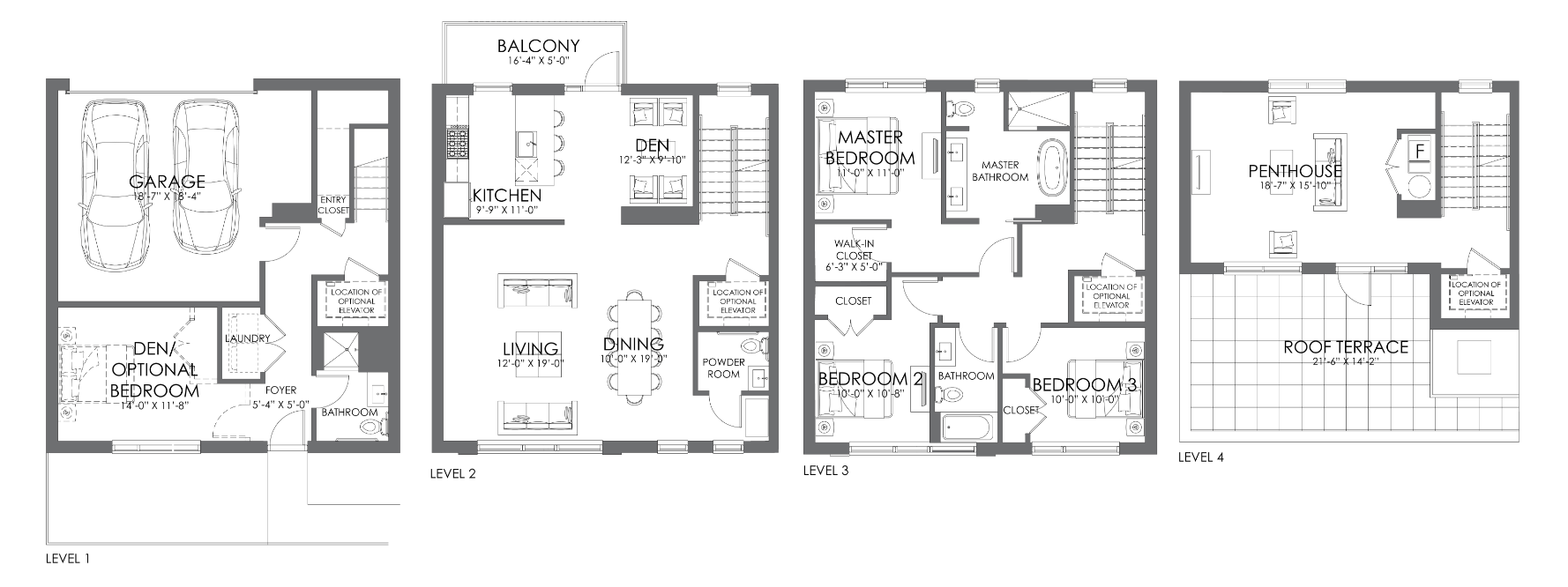 Alcove Wicker Park townhome 'A'
