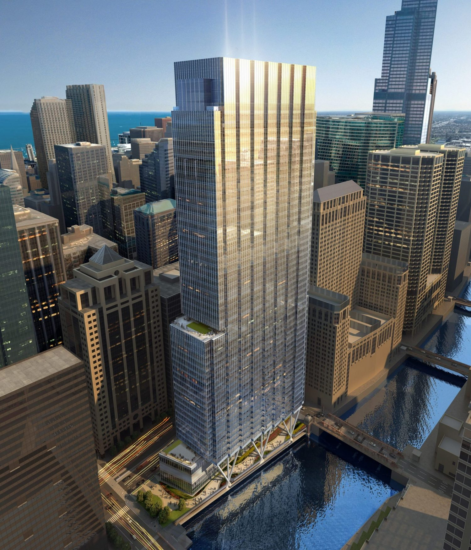 110 North Wacker Drive