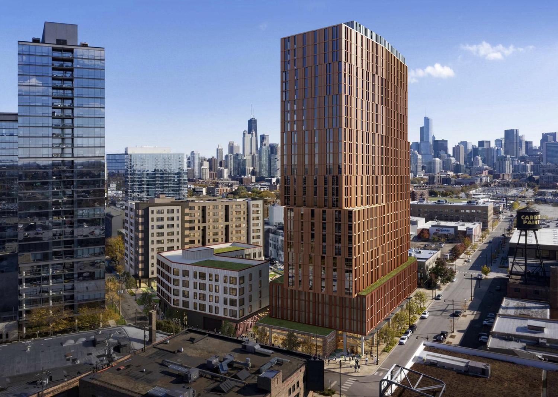 1450 N Dayton Street. Rendering by GREC Architects