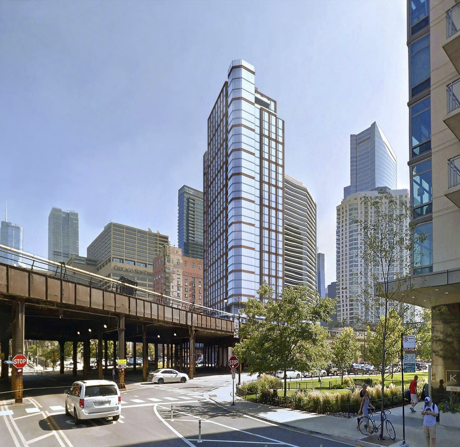View of 344 N Canal Street. Rendering by SCB
