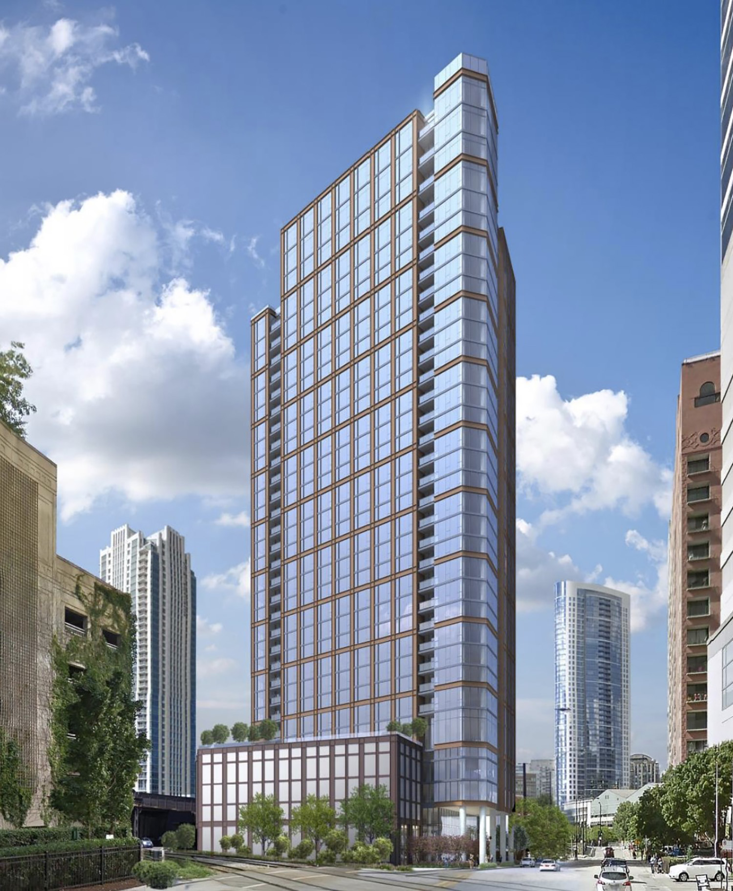 344 N Canal Street. Rendering by SCB