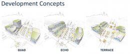 Development Concepts for 3400-18 W Ogden Avenue. Diagrams by StudioGang
