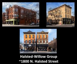 Halsted-Willow Group. Images by CCL