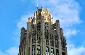 Tribune Tower crown