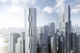 Parcel I at Lakeshore East. Rendering by bKL Architecture