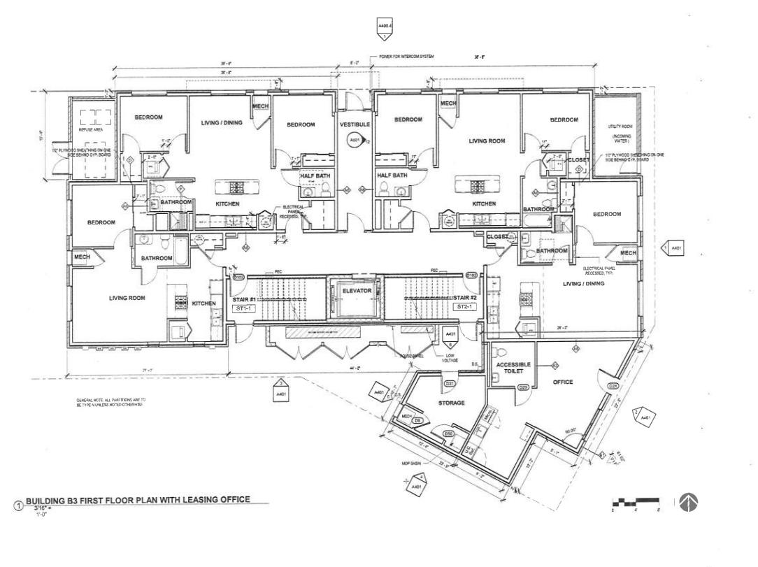 749 W Schiller Street ground floor plan