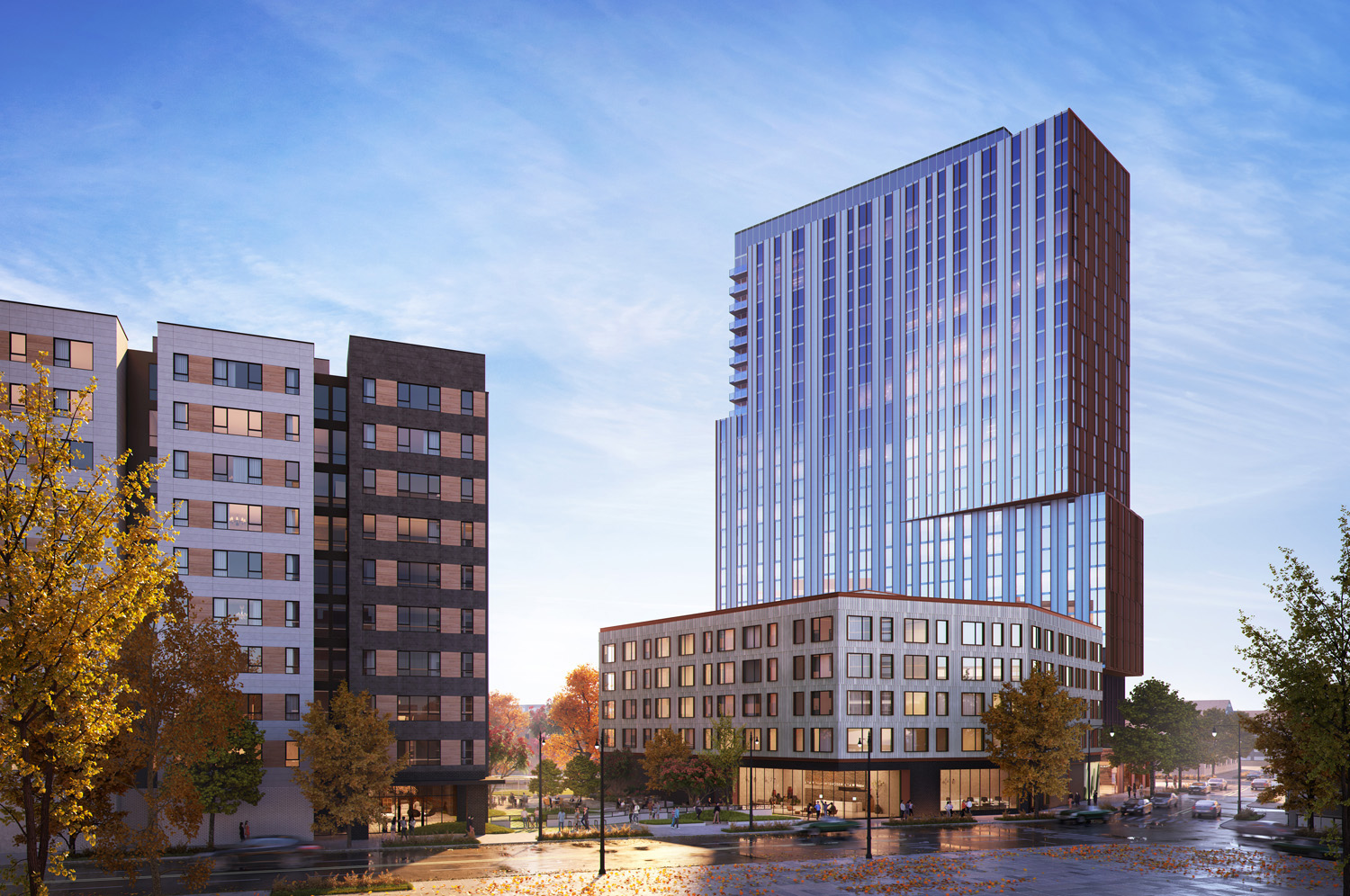 View of Big Deahl at 1450 N Dayton Street. Rendering by GREC Architects