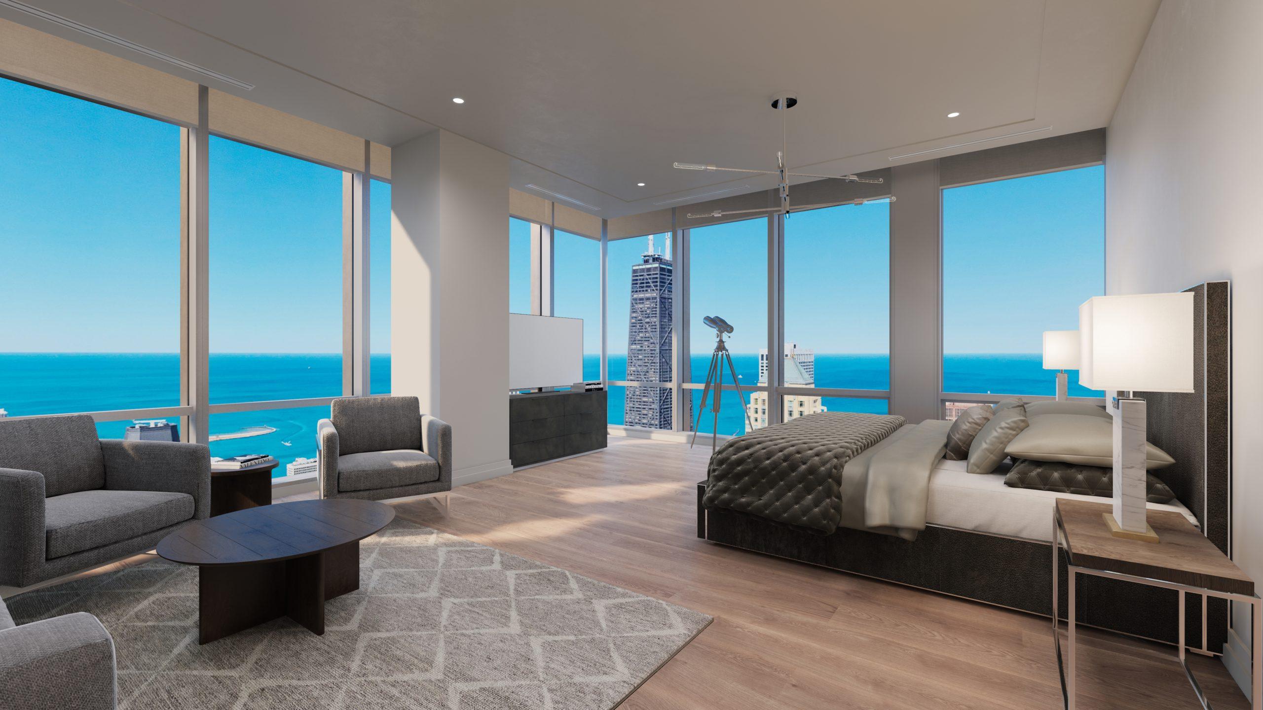 One Chicago Square condominium interior