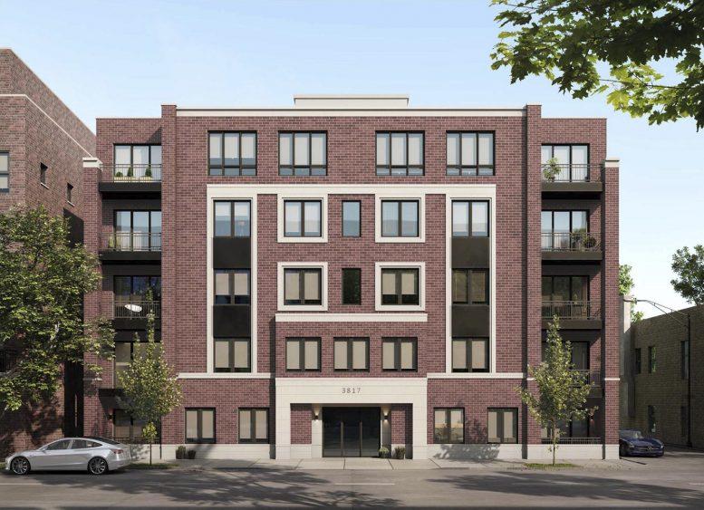 3817 N Ashland Avenue. Rendering by 360 Design Studio