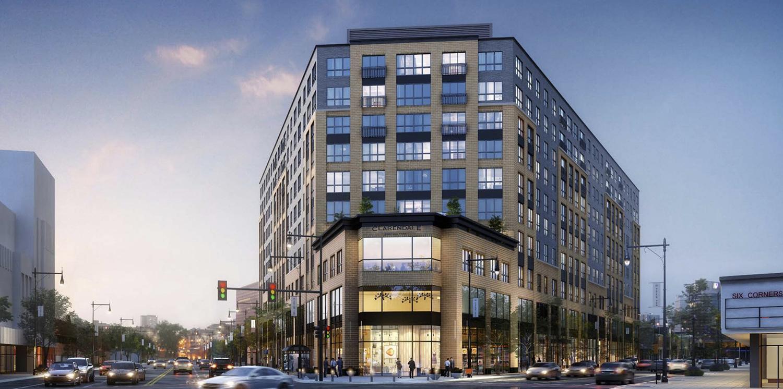 4747 W Irving Park Road. Rendering by Ryan Companies