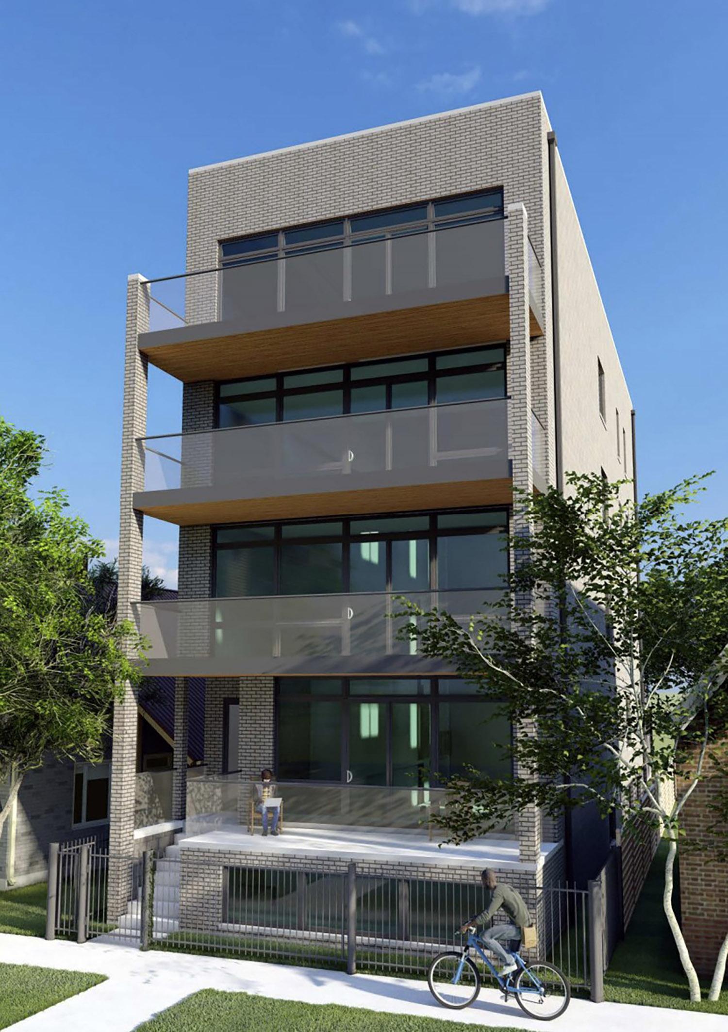 5040 N Western Avenue. Rendering by Eduard Livanu