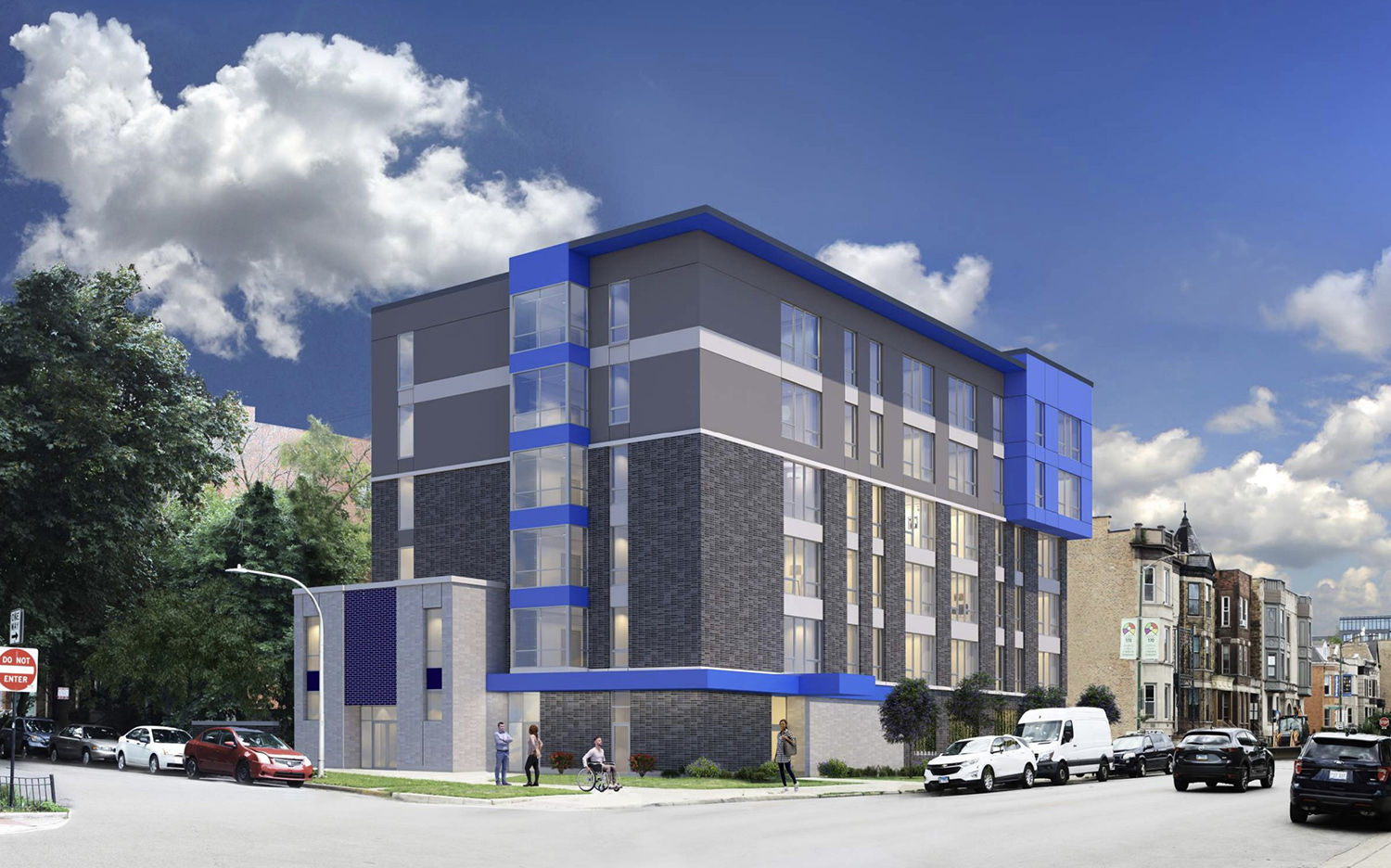 835 W Addison Street. Rendering by Weese Langley Weese