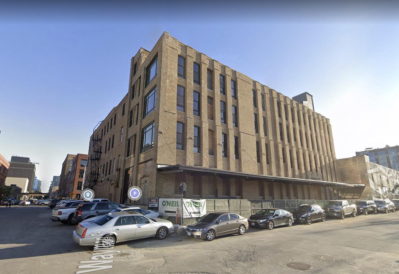 Existing Building at 310 N Peoria Street via Google Maps