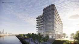 Life Sciences Building at Lincoln Yards. Rendering by Gensler