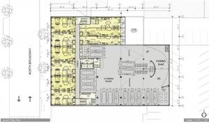 3121 N Broadway third floor plan