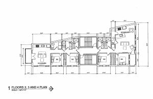 963 W Montana Street floors 2-4 plan