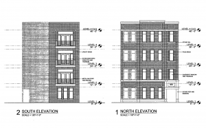963 W Montana Street north and south elevations