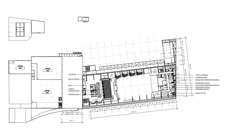 Second Floor Plan for Morton Salt Development. Drawing by Lamar Johnson Collaborative