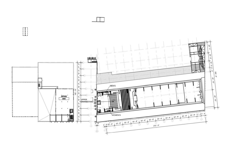 Third Floor Plan for Morton Salt Development. Drawing by Lamar Johnson Collaborative